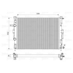 8MK 376 700-684 HELLA Radiator  engine cooling
