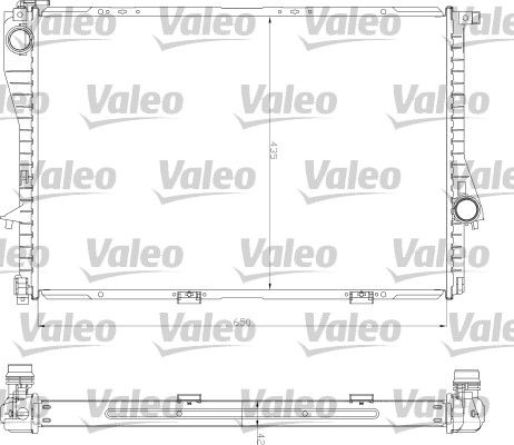 OE Original Autokühler 734277 VALEO
