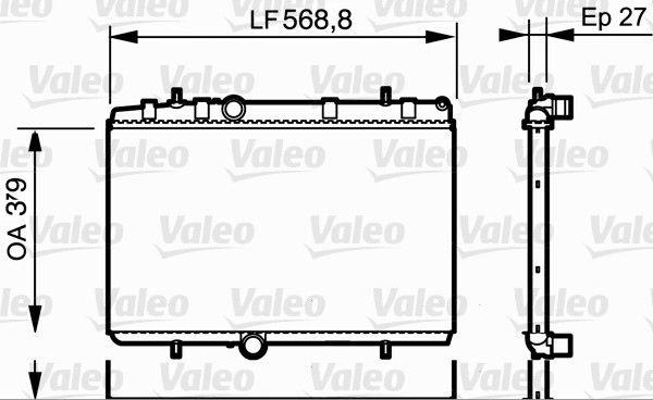 Acheter Radiateur moteur VALEO 734338 à tout moment