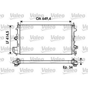 734339 VALEO Aluminium Kühler, Motorkühlung 734339 günstig kaufen