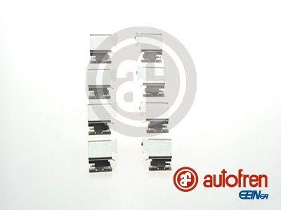 Комплект принадлежности, дискови накладки D42343A за FORD TRANSIT Custom на ниска цена — купете сега!