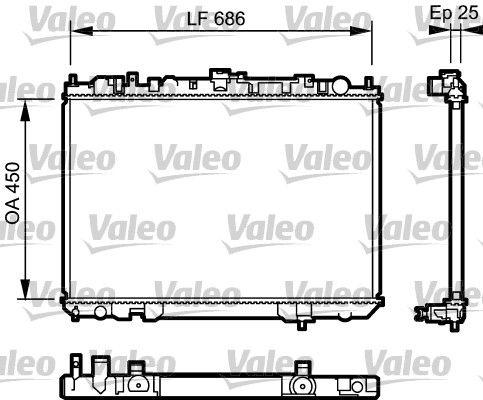 VALEO: Original Autokühler 735081 ()