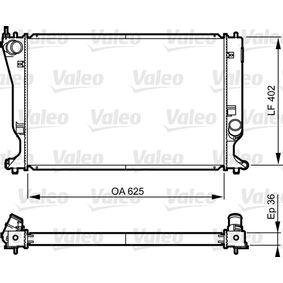 735573 VALEO Aluminium Kühler, Motorkühlung 735573 günstig kaufen