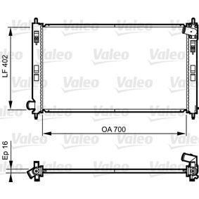 735575 VALEO Aluminium Kühler, Motorkühlung 735575 günstig kaufen