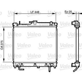 735578 VALEO Aluminium Kühler, Motorkühlung 735578 günstig kaufen