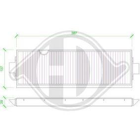 Comprar y reemplazar Filtro, aire habitáculo DIEDERICHS DCI1113