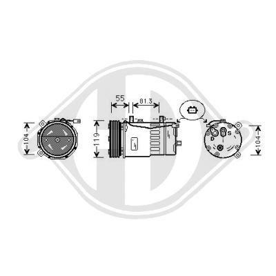 Original SEAT Kompressor DCK1027
