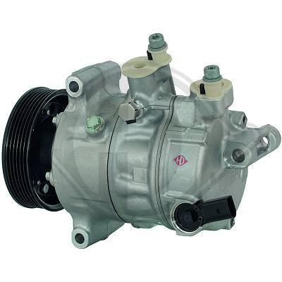 DCK1053 DIEDERICHS Kältemittel: R 134a, Climate Riemenscheiben-Ø: 110mm Klimakompressor DCK1053 günstig kaufen