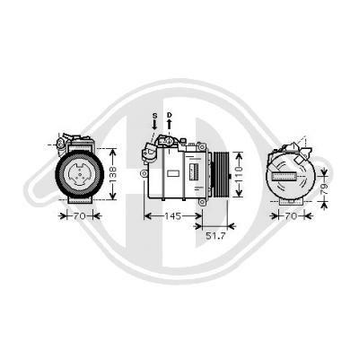 Kompressor DIEDERICHS DCK1106