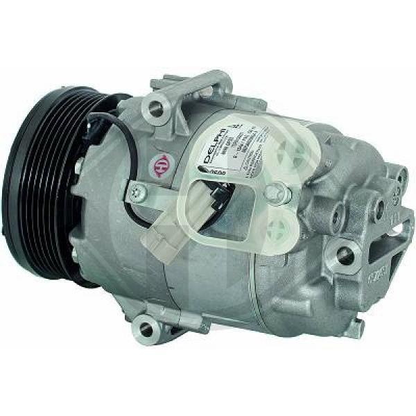Original OPEL Kompressor Klimaanlage DCK1424