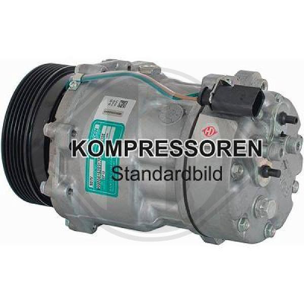 Original AUDI Kompressor Klimaanlage DCK1688