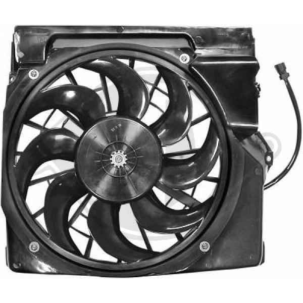DIEDERICHS: Original Lüfter, Klimakondensator DCL1006 ()