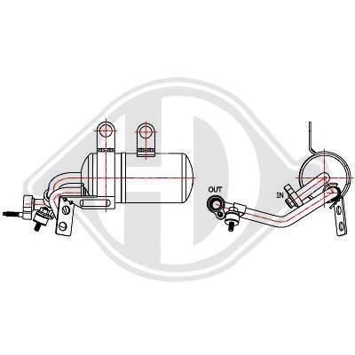 Original FORD Klimatrockner DCT1114