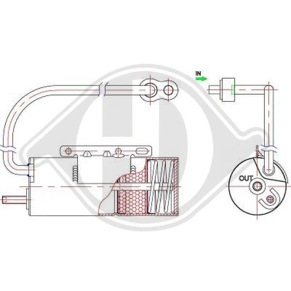 Trockner Klimaanlage DIEDERICHS DCT1171