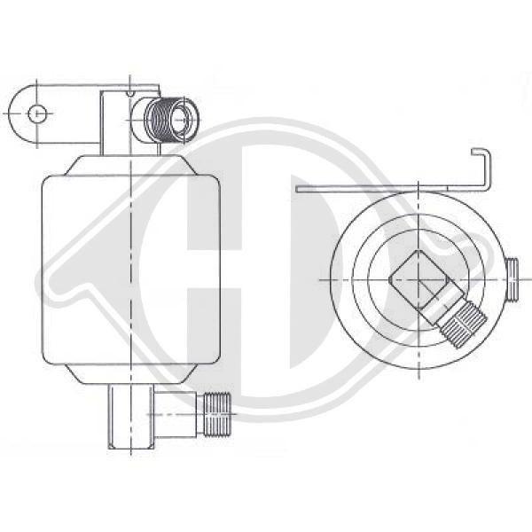 Achetez Filtre déshydratant climatisation DIEDERICHS DCT1187 () à un rapport qualité-prix exceptionnel