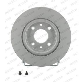 DDF1096C FERODO PREMIER Coat+ disc belüftet, beschichtet, mit Schrauben Ø: 259mm, Lochanzahl: 4, Bremsscheibendicke: 20,6mm Bremsscheibe DDF1096C günstig kaufen
