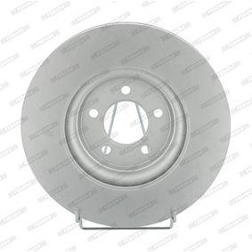 DDF1702 FERODO PREMIER belüftet, beschichtet, ohne Schrauben Ø: 326mm, Lochanzahl: 5, Bremsscheibendicke: 30mm Bremsscheibe DDF1702C-1 günstig kaufen