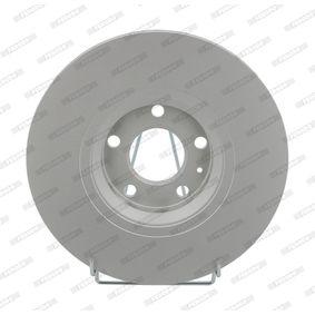 DDF1707C FERODO PREMIER Coat+ disc belüftet, beschichtet, ohne Schrauben Ø: 312mm, Lochanzahl: 5,1, Bremsscheibendicke: 25mm Bremsscheibe DDF1707C günstig kaufen