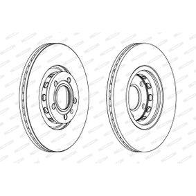 DDF1707C Bremsscheiben FERODO DDF1707C - Große Auswahl - stark reduziert