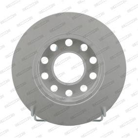 DDF1709C FERODO PREMIER Coat+ disc Voll, beschichtet, ohne Schrauben Ø: 245mm, Lochanzahl: 5, Bremsscheibendicke: 10mm Bremsscheibe DDF1709C günstig kaufen