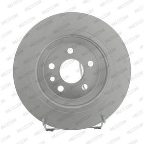 DDF1720C FERODO PREMIER Voll, beschichtet, ohne Schrauben Ø: 300mm, Lochanzahl: 5, Bremsscheibendicke: 11mm Bremsscheibe DDF1720C günstig kaufen