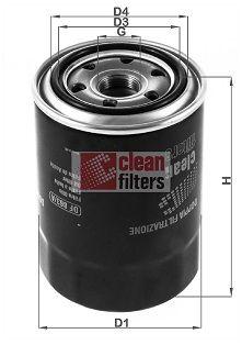 Motorölfilter CLEAN FILTER DF 863/A