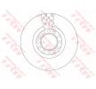TRW Bremsscheibe für MAN - Artikelnummer: DF5098S