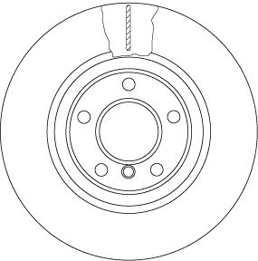 DF6616S Scheibenbremsen TRW - Markenprodukte billig