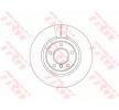 Bremsscheibe DF6616S mit vorteilhaften TRW Preis-Leistungs-Verhältnis
