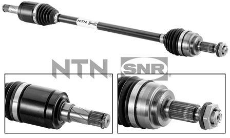 MAZDA 626 2000 Antriebswellen - Original SNR DK80.006 Länge: 850mm, Außenverz.Radseite: 28