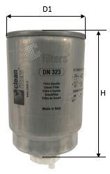 DN 323 CLEAN FILTER Degvielas filtrs MAN M 2000 L - iegādāties tagad