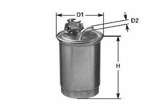 Osta DN1937 CLEAN FILTER Filtrer Kõrgus: 179mm Kütusefilter DN1937 madala hinnaga