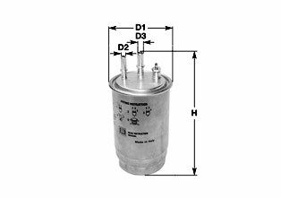 Купете DNW1999 CLEAN FILTER вложка на филтър, с бърз конектор, с пробка за вода височина: 205мм Горивен филтър DNW1999 евтино