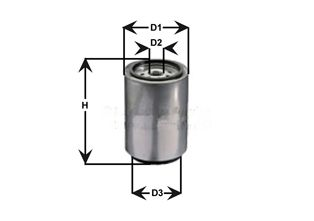 DNW2508 CLEAN FILTER Fuel filter for IVECO Strator - buy now