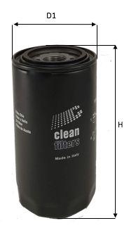 DO1843 CLEAN FILTER Oljefilter till TERBERG-BENSCHOP URBIN - köp dem nu