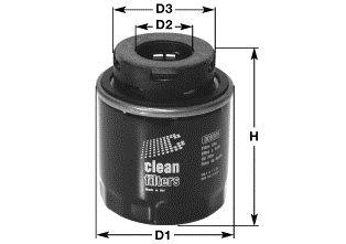 Ölfilter CLEAN FILTER DO5509