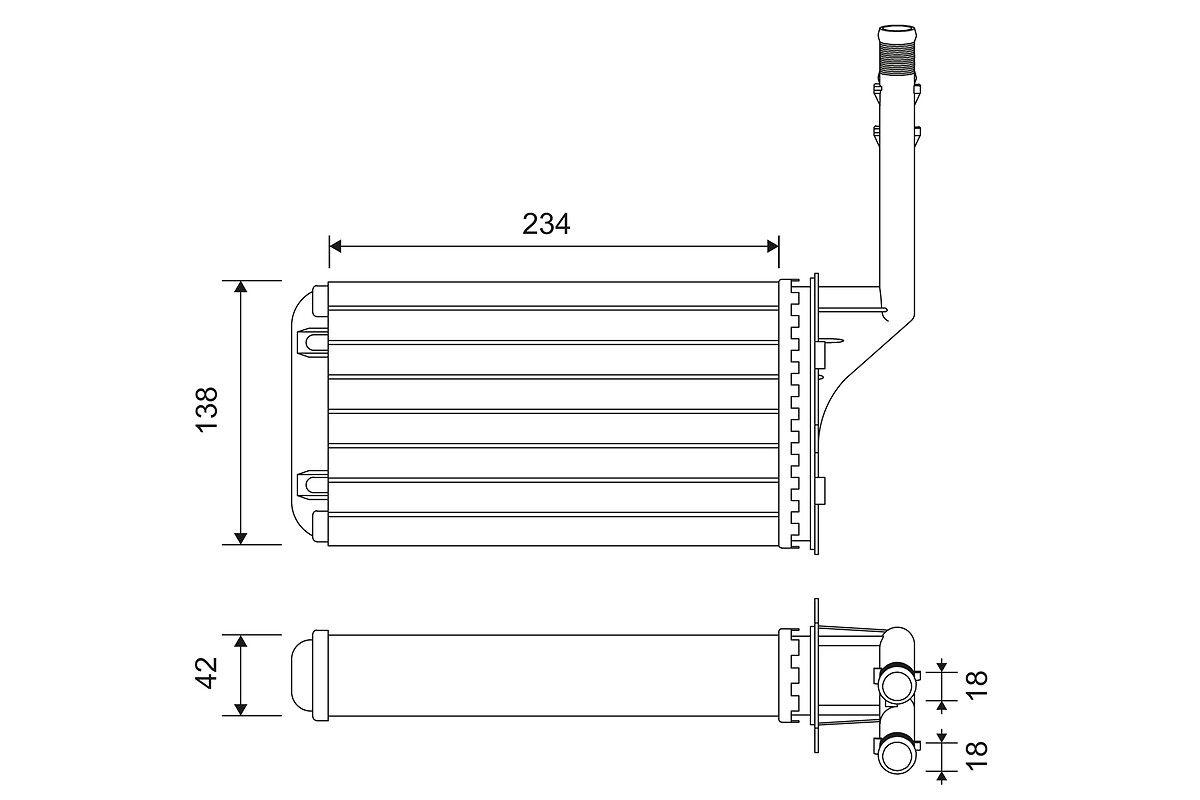 Originales Aire acondicionado y ventilación 812016 Peugeot