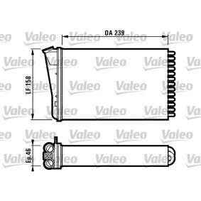 Innenraumheizung Valeo 812128 W/ärmetauscher