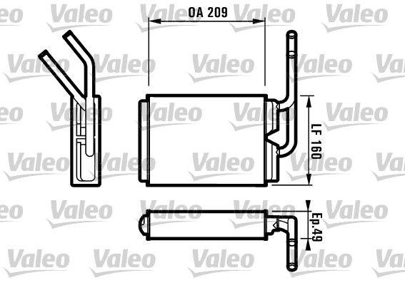 VALEO 812154 () : Chauffage / ventilation Twingo c06 2003