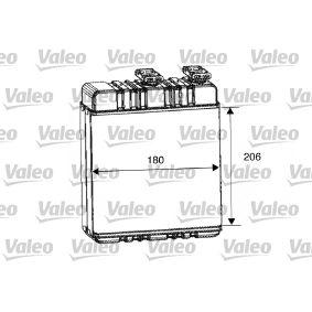 Innenraumheizung Valeo 812220 W/ärmetauscher