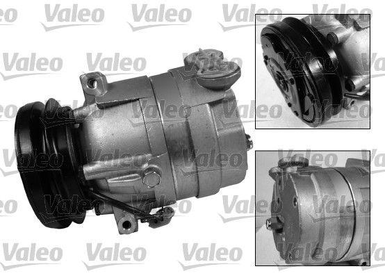 813159 VALEO PAG 125, Kältemittel: R 134a, mit PAG-Kompressoröl, NEW ORIGINAL PART Riemenscheiben-Ø: 132mm Klimakompressor 813159 günstig kaufen