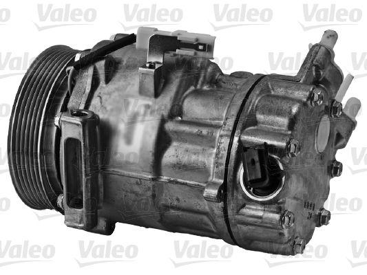 813162 VALEO PAG 46, Kältemittel: R 134a, mit PAG-Kompressoröl, NEW ORIGINAL PART Riemenscheiben-Ø: 119mm, Anzahl der Rillen: 6 Klimakompressor 813162 günstig kaufen