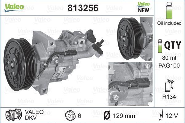 VALEO Ilmastoinnin kompressori 813256