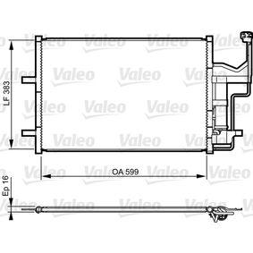 VALEO Kondensator Klimaanlage