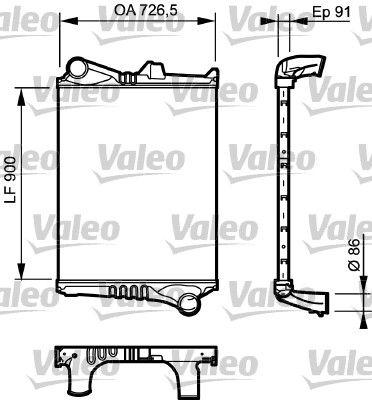 Ladeluftkühler VALEO 817775 mit 18% Rabatt kaufen