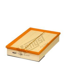 6328310000 HENGST FILTER Filtereinsatz Länge: 330,0mm, Breite: 216,0mm, Höhe: 62,0mm Luftfilter E1189L günstig kaufen