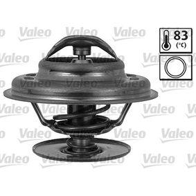 820768 VALEO Öffnungstemperatur: 83°C, mit Dichtungen Thermostat, Kühlmittel 820768 günstig kaufen