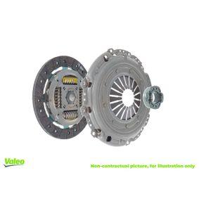 K480S VALEO 3KKIT mit Kupplungsdruckplatte, mit Kupplungsscheibe, mit Ausrücklager Kupplungssatz 821071 günstig kaufen