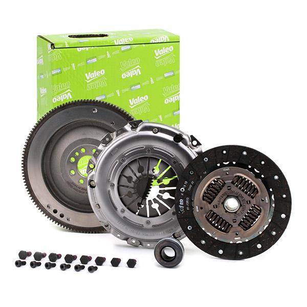 Köp VALEO 835068 - Kopplingssats: Ombyggnad från dubbelmassesvänghjul till enkelmassesvänghjul, med tryckplatta, med lamell, med skruvsats, med svänghjul, med utrampningslager