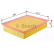 Opel ASTRA BOSCH Zracni filter F 026 400 390